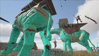 Ark Official PvP | Small Tribes | Wiping PasseveEnfemy | Rag17