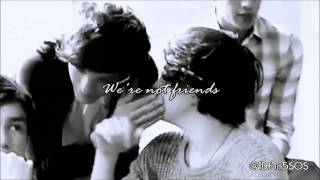 Larry Stylinson || Friends (Ed Sheeran)|| Lyrics.