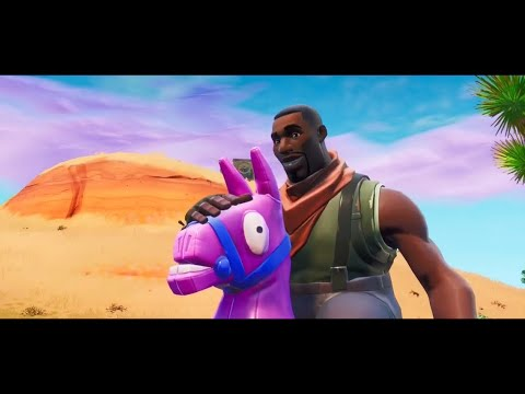 Lil Nas X - Old Town Road (Horses In The Back) Fortnite Music Video