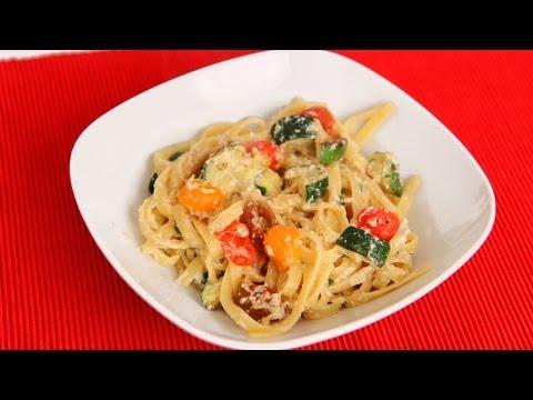 Fettucine with Fresh Ricotta Recipe – Laura Vitale – Laura in the Kitchen Episode 588