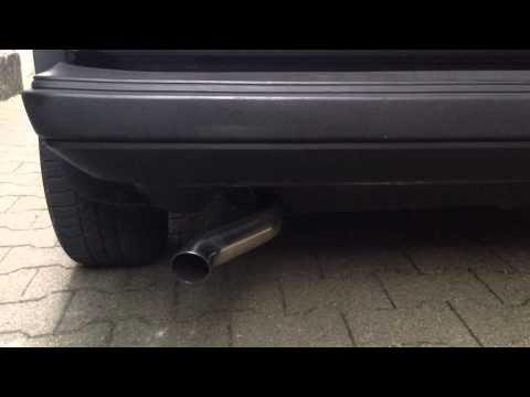 Schrick SR1 Auspuff an VW Golf 1 GTI 1,8l DX Engine MK 1