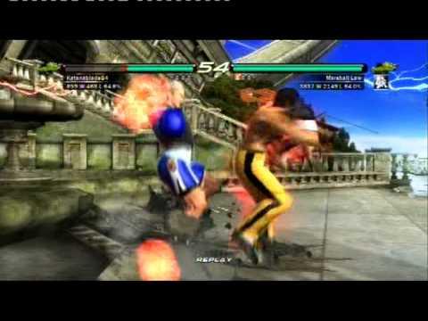 Tekken 6 Online: Steve vs. Law [KBB]