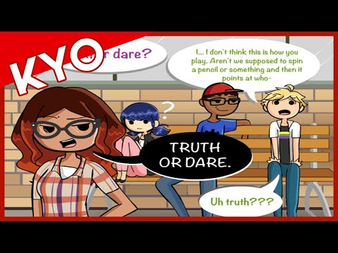 Truth Or Dare (Hilarious Miraculous Ladybug Comic Dub)