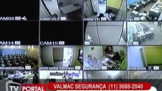 Diretor Presidente da Valmac, Valdemy Alves concede entrevista sobre segurança.