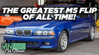 The Greatest BMW M5 Flip Of All Time!