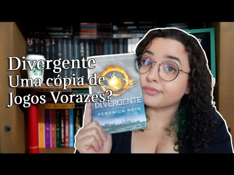 Divergente é só uma cópia de Jogos Vorazes? ?