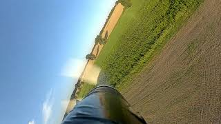 DJI FPV-Goggles FPV Flug mit der Relax II von Hype