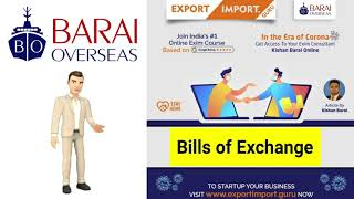 How Bills of Exchange can Safeguard our Payments ? #EximMan