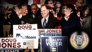 Alabama Voters Elect Doug Jones, Roy Moore Still Waiting on God