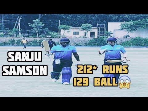 Sanju Samson || 212* Runs in 129 Balls 😱🔥