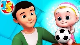 Papa Papa Yes Johny | Nursery Rhymes | Kids Songs For Children