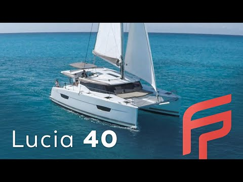 Fountaine Pajot Lucia 40 video