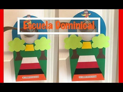 Manualidades para la Escuela Dominical/Camino de Salvación