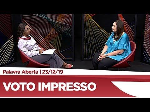Bia Kicis explica propostas de impressão de votos