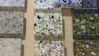 Eco-Friendly Countertops - Recycled Glass & Concrete Counters - Austin, TX