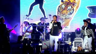 """Duran Duran """"Pressure Off"""" w Janelle Monáe and CHIC ft Nile Rodgers at FOLD Festival 2015"""