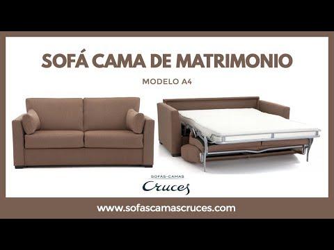 Sofá cama de matrimonio de uso diario