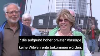 Video: VdK-TV: Rentensplitting: Was versteht man darunter?