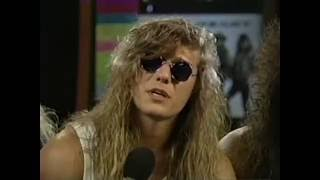 Steelheart - Interview in New Haven 1991