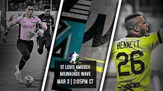 St Louis Ambush vs Milwaukee Wave
