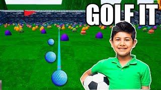 GOLF IT | NIÑO DE 11 AÑOS NOS HACE ENFADAR MUCHO!