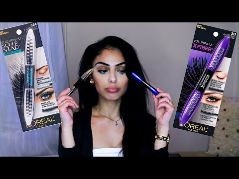 Loreal Voluminous X Fiber Mascara VS Loreal Voluminous Superstar Mascara – Review | Dana Dey