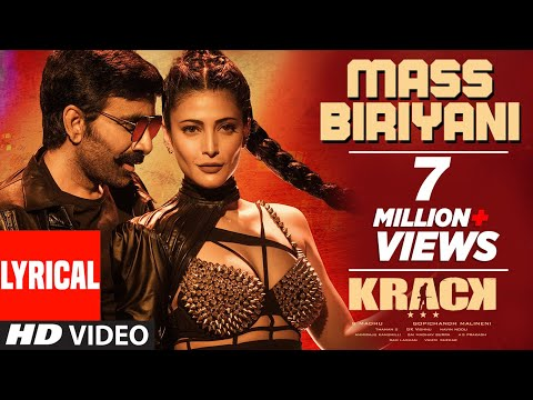 Mass Biriyani Lyrical Video Song from krack movie