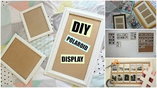 DIY Polaroid Display/Frame Wall | KatChats