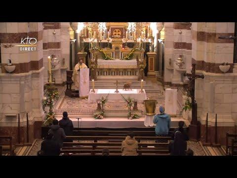 Laudes et Messe du 7 avril 2021 à Notre-Dame de la Garde