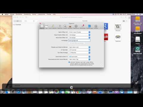 Einsteiger-Tipps: Safari Startseite festlegen