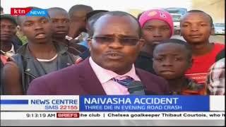Accident Kills Three People Along Nairobi-Nakuru Highway