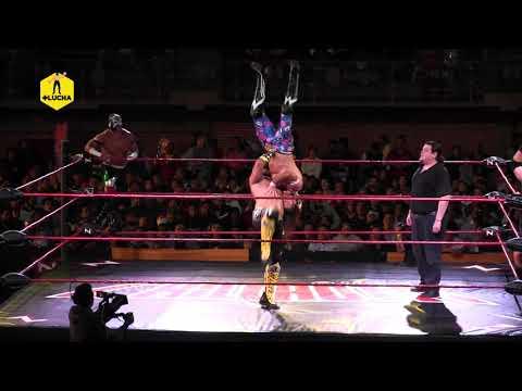 Chavo Guerrero, Mecha Wolf VS Matt Sydal, Super Nova - Nación Lucha Libre - Sala de Armas