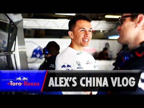 Chinese GP Vlog - Alex Albon