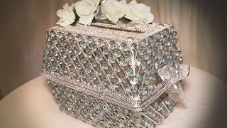 DIY | Dollar Tree Wedding Bling Card Box