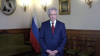 Видеообращение Посла РФ в Италии С.С. Разова в честь 75-летия Великой Победы