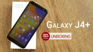Samsung Galaxy J4+ unboxing and quick review | Kholo.pk