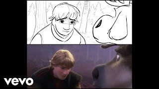 "Jonathan Groff - Lost in the Woods (From ""Frozen 2""/Storyboard to Final Frame Version)"