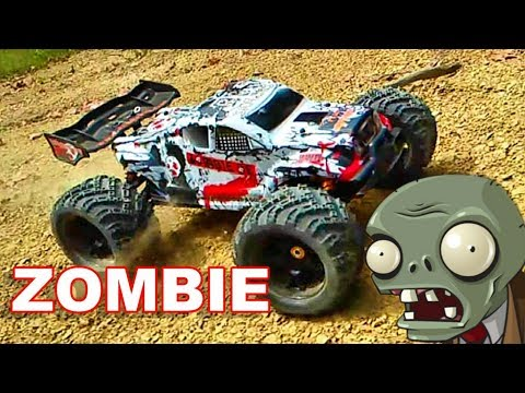 Awesome Fast Zombie RC Monster Truck BASHING - DHK HOBBY 8384 - TheRcSaylors