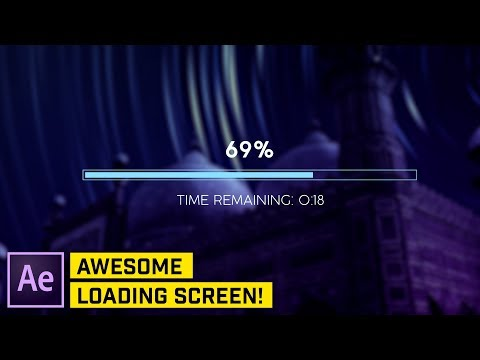 ADVANCED: Loader Bar & Countdown with Expressions After Effects Tutorial