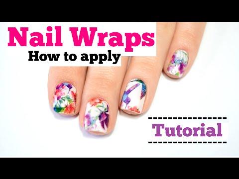Anleitung: Nagelfolien benutzen - Nail Wraps Tutorial + Miss Sophie´s News