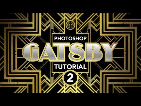 """Photoshop Tutorial: """"Gatsby"""" Art-Deco Poster Effect (Part 2 of 3)"""