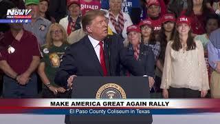 FULL MAGA RALLY: President Donald Trump in El Paso, Texas (FNN)