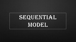 Sequential Model in Parallel Algorithm
