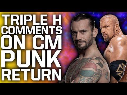 "Triple H Comments On CM Punk WWE Return | Fox Asks Fans To Stop ""What"" Chant"