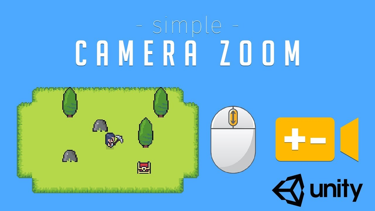 How to zoom camera in Unity - [Unity Tutorial]
