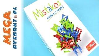 Mistakos - Walka o Stołki! - Trefl - Gra Zręcznościowa - 01018
