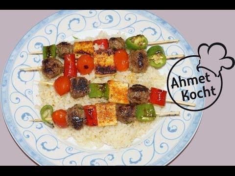 Rezept: Grillspiess | AhmetKocht | single kochen | Folge 87