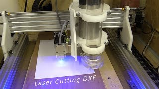 Laser cutter diy cnc ramps marlin acrylic - Kênh video giải
