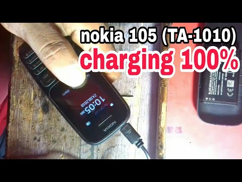 Nokia New 105 TA1010 Not Charging - Mobile Phone Tips - Video