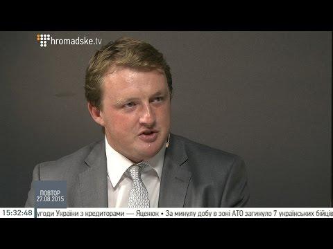 Сергей Фурса, специалист отдела продаж долговых ценных бумаг, для Громадське Телебачення (Интервью)